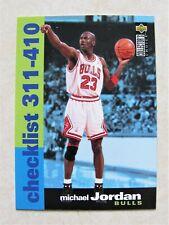 MICHAEL JORDAN CHICAGO BULLS 1995-96 UD COLLECTOR'S CHOICE #410 CL CARD
