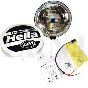 LAND ROVER ALL MODELS HELLA RALLEY 1000 LONG RANGE DRIVING SINGLE LAMP STC7644