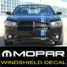 MOPAR DODGE HEMI Challenger Graphic Windshield Vinyl Decal Sticker Vehicle Logo