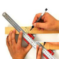 Holzbearbeitung Scriber Lineal Positionierblock Paralleles Lineal für die