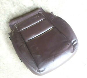 2007-09 ACURA MDX PASSENGER HEATED LOWER SEAT CUSHION BROWN Leather
