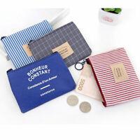 piccoli portafogli cambiare busta tela portamonete titolare della carta
