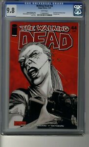 Walking Dead # 44 - CGC 9.8 WHITE Pages - Death of Jameson