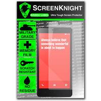 ScreenKnight Xiaomi RedMi Note SCREEN PROTECTOR invisible Military Grade shield