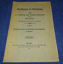 Gneisenau di Würzburg discorso sullo scoprono una Gneisenau-lapide commemorativa
