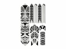 All Mountain Style HONEYCOMB MTB Frame Guard Protection Stickers MAORI XL