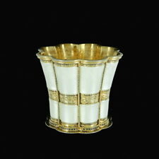 A. Michelsen. Margrethe Cup. Gilded Sterling Silver with Enamel. 1958.