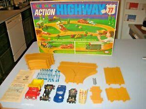 Ideal 1967 Original Motorific Action Highway 77 in Box