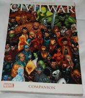 Civil War Companion TPB reprints Spotlight Files Battle Damage Aftermath Marvel