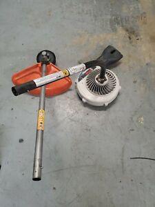 Husqvarna trimmer +blower String Trimmer Blower Attachment set arrangements ONLY