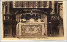 ROM Roma Italien Cartolina ~1910/20 Kirche Chiesa Cappuccinie Altare di Giustino