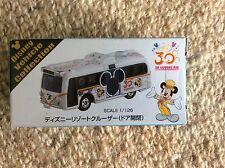 TAKARA TOMY TOKYO DISNEYLAND 30th ANNIVERSARY SCENIC CRUISER BUS NEW SEALED BOX