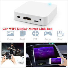 Car Dash HD Media Display WiFi Mirror Link Box Adapter Airplay For Android iOS