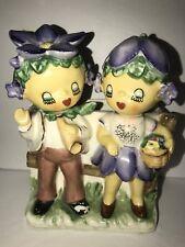 VINTAGE RARE LIPPER & MANN FLOWER KIDS PLANTER