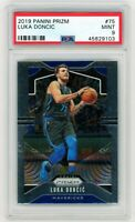 LUKA DONCIC 2019-20 Panini Prizm PSA 9 Mint #75 Second Year Dallas Mavericks