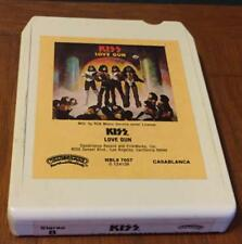 (8 track cassette) KISS - LOVE GUN (1977 UNTESTED)