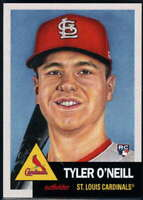 2018 Topps MLB The Living Set #77 Tyler O'Neill RC Rookie St Louis Cardinals