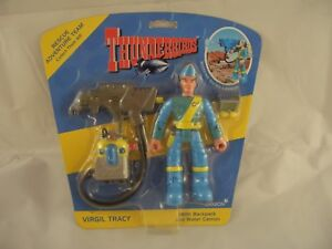 Thunderbirds Virgil Tracy Figure with Backpack and Water Cannon by Carlton