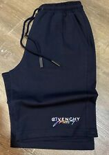 Men's Givenchy Shorts Black Size Large