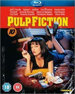 Pulp Fiction - Blu-ray - BRAND NEW SEALED Quentin Tarantino Uma Thurman John T