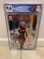 Captain Marvel #8 Hyuk Lee Carnage-ized Variant Cover Marvel 1st Star CGC 9.6