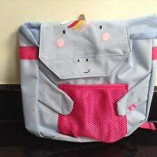 JOULES UNICORN RUCKSACK BACKPACK BUDDY BAG WITH BOTTLE HOLDER. NEW WITH TAG