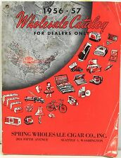 1956-57 Wholesale Catalog - Spring Cigar Co of Seattle – Character Watches +