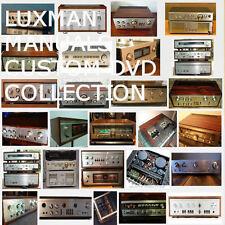 Luxman Service Owners Schematics Manuals Mega Collection Audio Repair PDF DVD