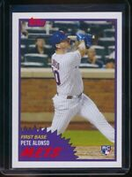 2019 Topps Throwback Thursday Pete Alonso RC Card #288 Rookie SP