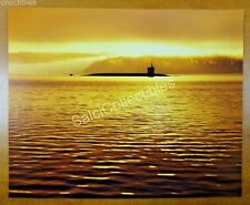 Official Us Navy Attack Submarine Ship Photo 8x10 Ssn-725 Uss Georgia Hood Canal