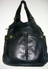 """""""MARC BY MARC JACOBS"""" Black Leather Medium Satchel and Shoulder Handbag"""