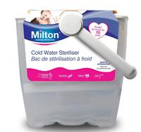 Milton Cold Water Steriliser White
