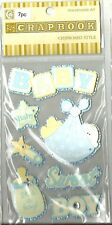 Scrapbook Stickers BABY BOY B102