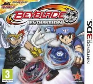 Beyblade Evolution - Nintendo 3DS Game. Complete with case, manual & cartridge.
