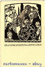 WW1 WWI Propaganda - Attilio - Per le Tombe dei... - Formato Grande! - PV245