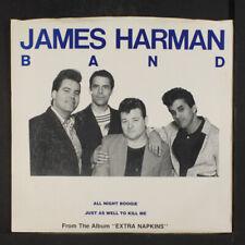 JAMES HARMAN: All Night Boogie / Kill Me 45 (PS, wobc) Rock & Pop