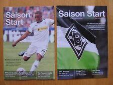 2 Sonderhefte Saison Start 2018/2019 und 2017/2018 Borussia Mönchengladbach