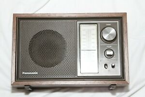 PANASONIC RE 6289 AM FM Table Radio-Works Great