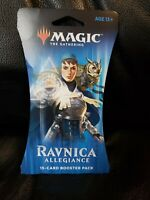 ** Magic The Gathering Booster Pack, Ravnica Allegiance Cover art may vary