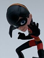 Disney Pixar Infinity Action Figure Violet From The Incredibles Wii Toy 7.5cm