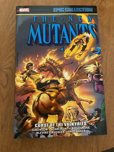 New Mutants Epic Collection TPB vol. 7 Curse Of The Valkyries Marvel Comics