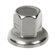 60 pcs x 32mm WHEEL STAINLESS STEEL NUT COVER CAPS HGV TRUCK LORRY TRAILER