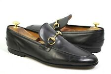 GUCCI JORDAAN Loafer Horse bit made in Italy US10 / 9.5UK shoes 406994 moccasins