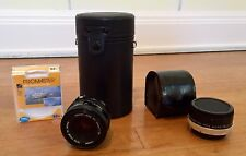 cannon ae-1 75-200 Mm Lens, 50 Mm Lens, Promaster UV Filters