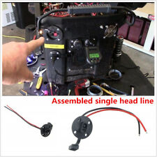 Solar SAE Single Head Line Socket Port, Waterproof Quick Connect Panel Mount X1