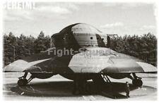WW2 Picture Photo Secret Photos of Nazi German UFO Hauzbu Ready to Fly 2901