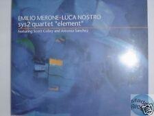 SYS2 QUARTET ELEMENT CD digipack JAZZ