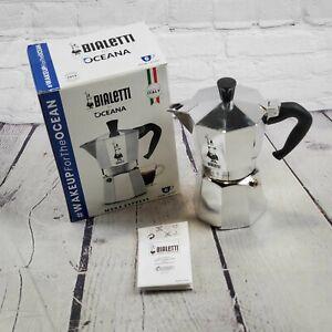 Lot of 10 Open Box Bialetti Case Italia Moka 6 Express Espresso Maker -BBJ1563