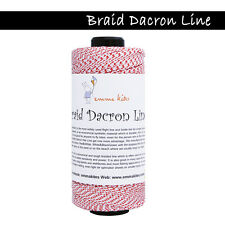 1000ft 120lb Dacron Line Versatile Braided Dacron Rope Fly Line Backing Kite Fly