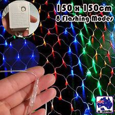1.5x1.5m Flashing LED Net Light Multi Color Yard XMAS  Tree ESLI53115+EPLUG